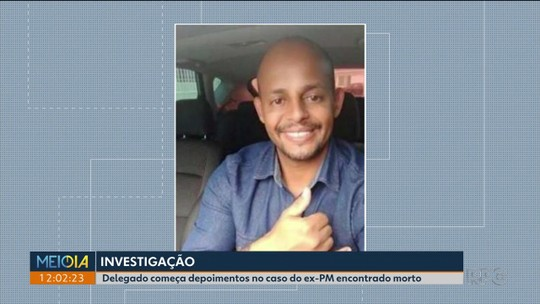 Colega que morava com ex-PM encontrado morto presta depoimento à polícia por cerca de três horas, em São José dos Pinhais