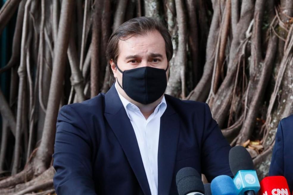 Rodrigo Maia — Foto: Luis Macedo / Câmara dos Deputados