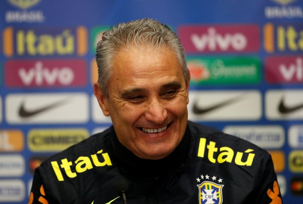 Tite faz nesta segunda a última convocação antes da lista final da Copa (Foto: Reuters)
