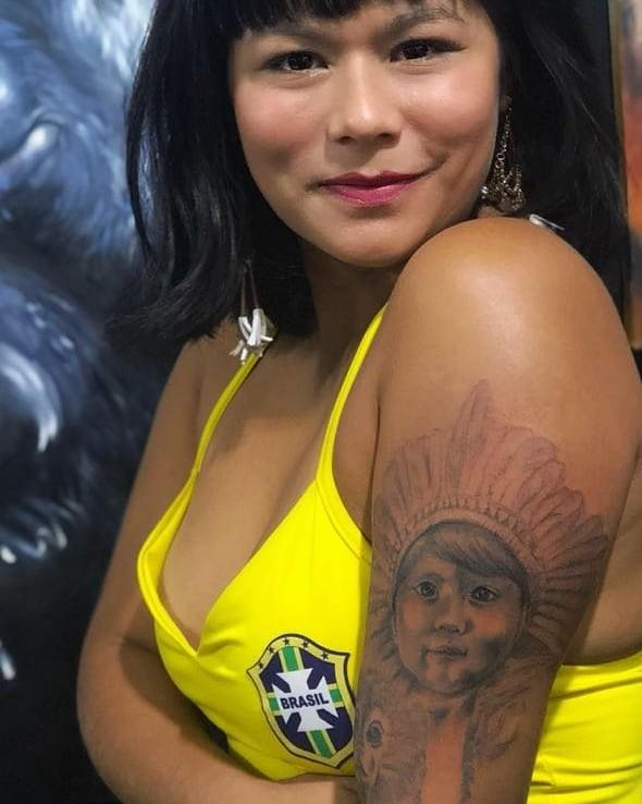 Eunice Baía viveu Tainá (Foto: Reprodução/Instagram)