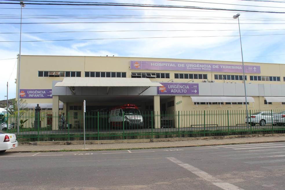 Hospital de Urgência de Teresina (HUT). — Foto: José Marcelo/ G1 PI
