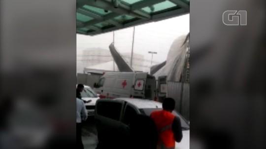 Estrutura de show desaba e deixa mais de 30 feridos em Belém