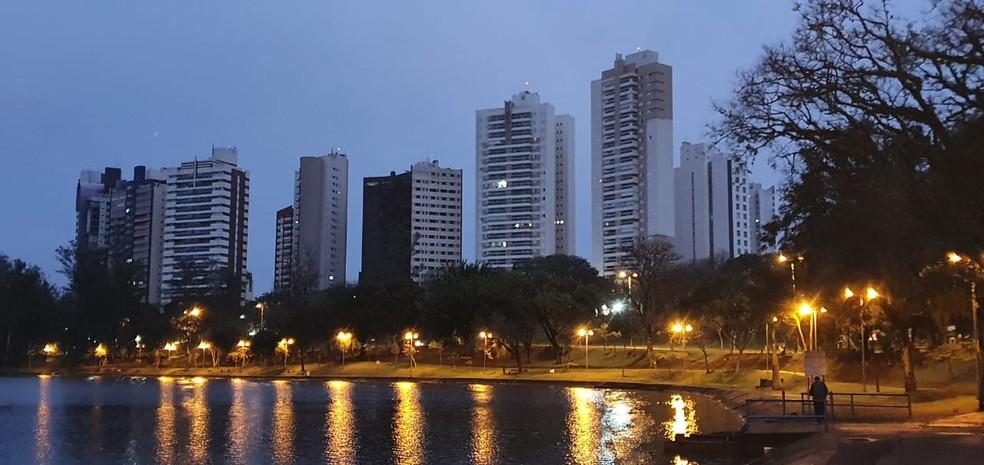Áreas de lazer de Londrina serão fechadas — Foto: Alberto D'angele/RPC