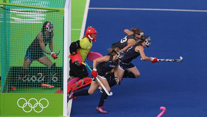 Hockey feminino EUA  (Foto: David Rogers/Getty Images))