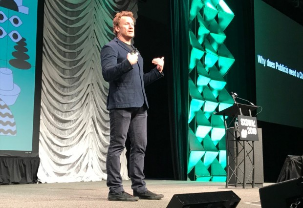 Nick Law, CCO do Publicis Groupe, no SXSW 2019 (Foto: Mariana Iwakura)