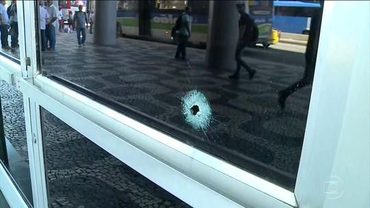 Tiroteio deixa 1 morto e 2 feridos no Centro do Rio