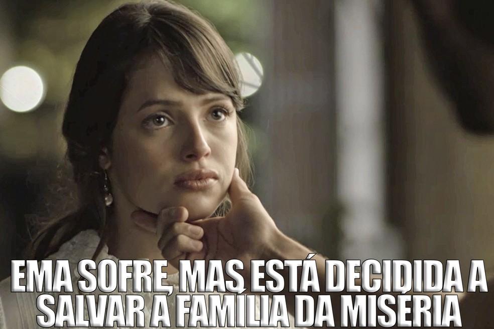 Logo ela, que sempre contribuiu para o amor acontecer, vai se casar por interesse. Que destino cruel! ? (Foto: TV Globo)