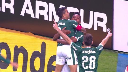 Antes de novo mata-mata, Dudu melhora marcas no Palmeiras e reassume posto de protagonista