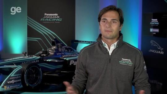 Primeiro campeão da Fórmula E, Nelsinho correrá pela Jaguar na próxima temporada