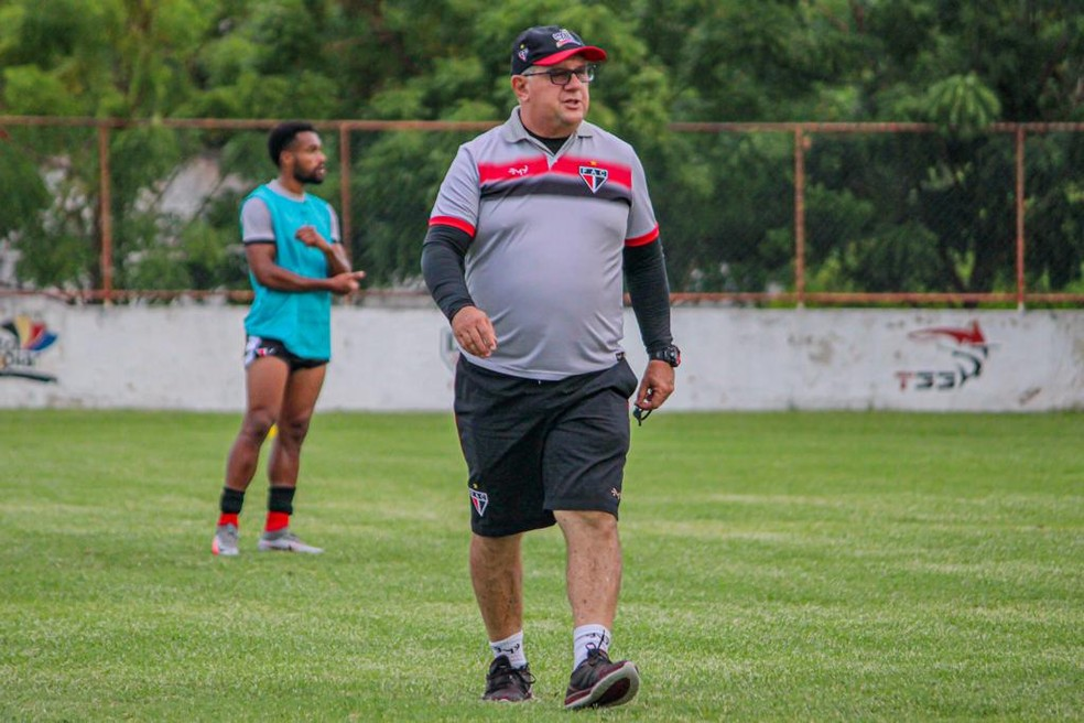 Marcelo Vilar comandou o Ferroviário em 2020 — Foto: Lenilson Santos / Ferroviário AC