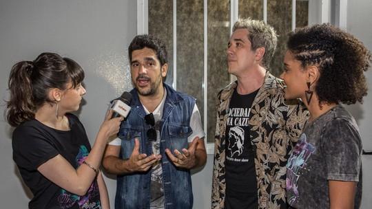 Rogério Flausino e Wilson Sideral falam de suas diferenças: 'A gente se completa'