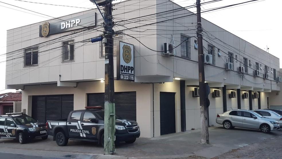 Caso foi registrado pela Divisão de Homicídios e de Proteção à Pessoa (DHPP) em Natal RN — Foto: Sérgio Henrique Santos/Inter TV Cabugi