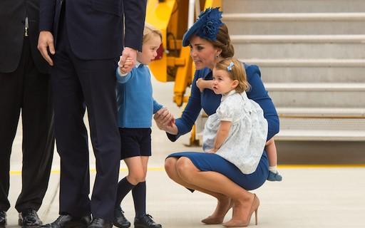 Príncipe George nega high-five a primeiro-ministro do Canadá; assista ao vídeo