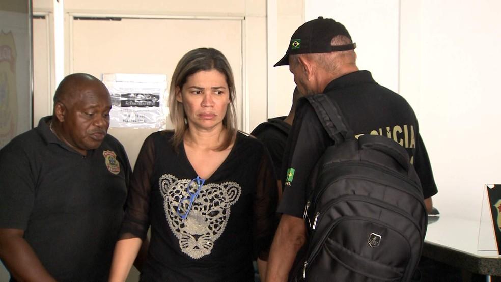 Rosângela Curado foi subsecretária de Saúde entre janeiro e setembro de 2015 (Foto: Reprodução/TV Mirante)