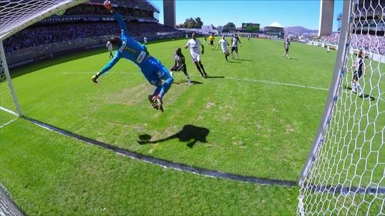 Os melhores momentos de Atlético-MG 3 x 1 Santos pela 18ª rodada do Campeonato Brasileiro