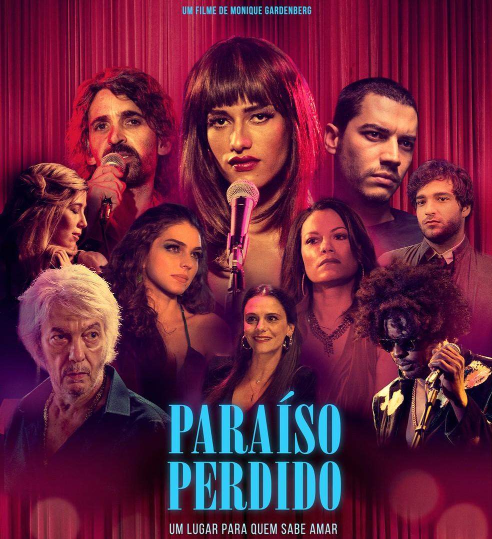 Poster do filme 'Paraíso perdido' (Foto: Divulgação)
