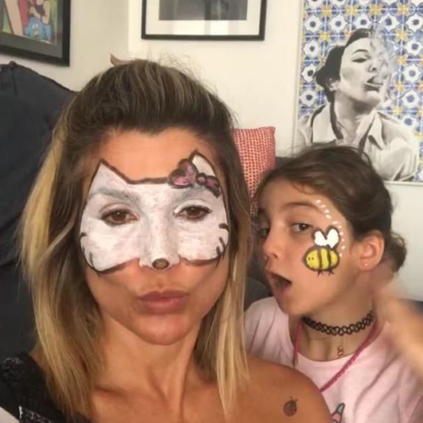 Flávia Alessandra e Olivia Costa (Foto: Reprodução Instagram)