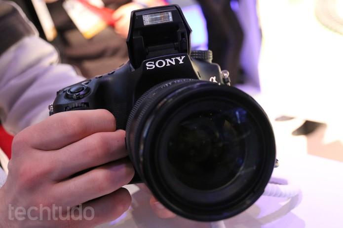 Sony Alpha (Foto: Isadora Diaz / TechTudo)