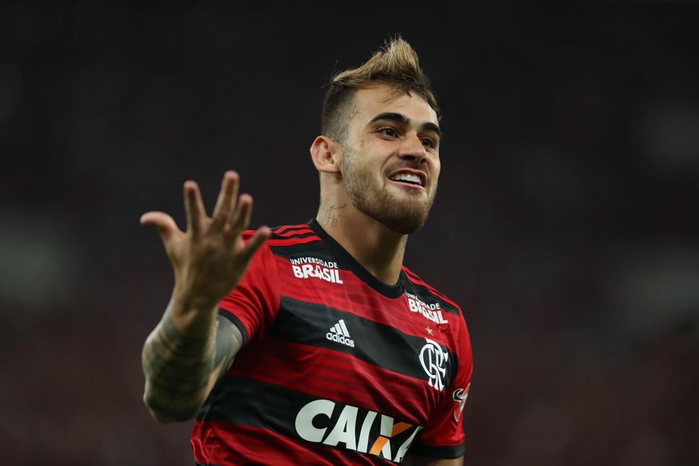Felipe Vizeu deixou o Flamengo no meio do ano  — Foto: Gilvan de Souza / Flamengo