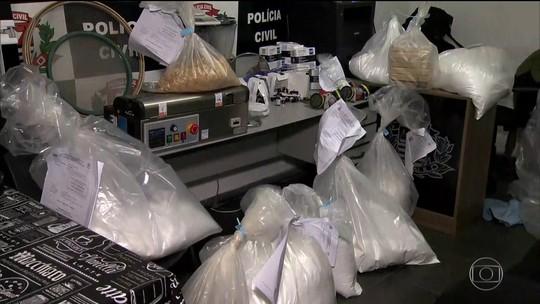 Polícia apreende 140 quilos de cocaína na região metropolitana de São Paulo