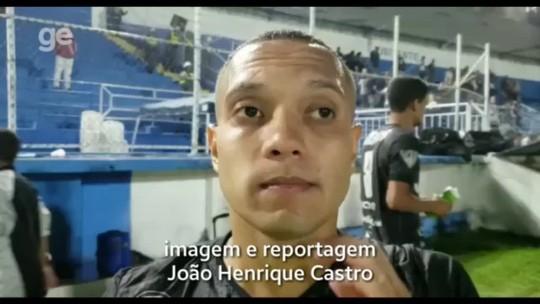 """Edu Capetinha valoriza empate e afirma que o Rio Branco-ES """"soube sofrer"""" contra o Vitória-ES"""