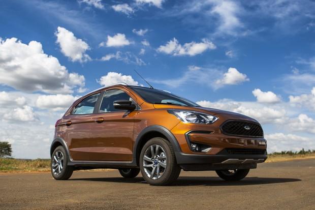 Teste Ford Ka Freestyle Acerta Com Motor 1 5 Do Ecosport