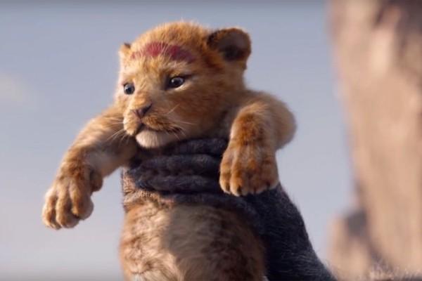 Cena do remake de O Rei Leão (Foto: reprodução)