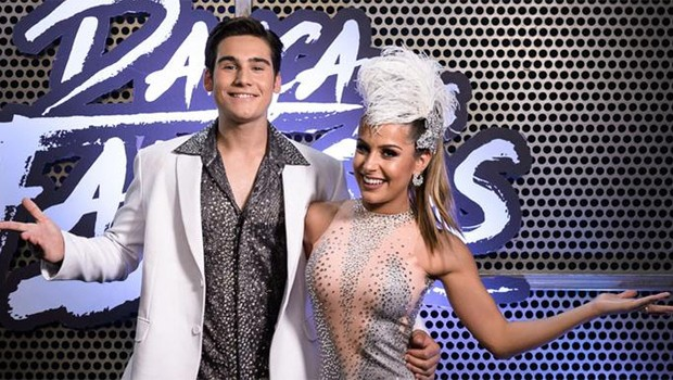 Nicolas Prattes e Mayara Araújo formaram dupla no quadro Dança dos Famosos (Foto: Divulgação/TV Globo)