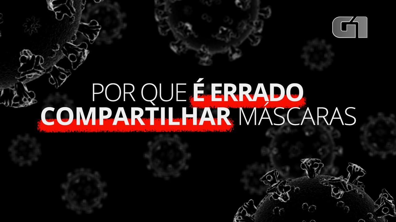 Coronavírus: por que é errado compartilhar máscaras
