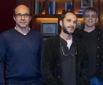 George Moura, José Luiz Villamarim e Sergio Goldenberg | Globo