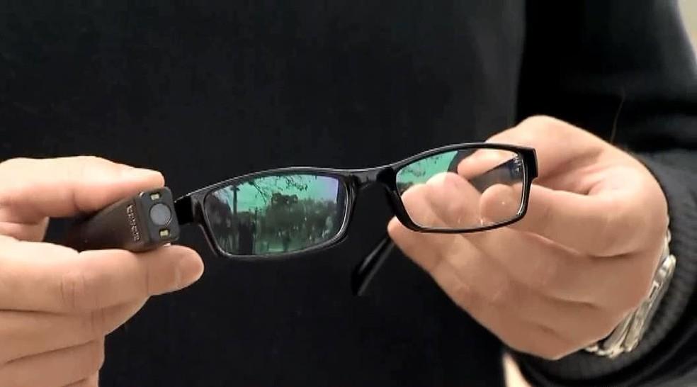 Nova tecnologia para pessoas com deficiência visual é apresentada em Juiz de Fora — Foto: Reprodução/TV Integração