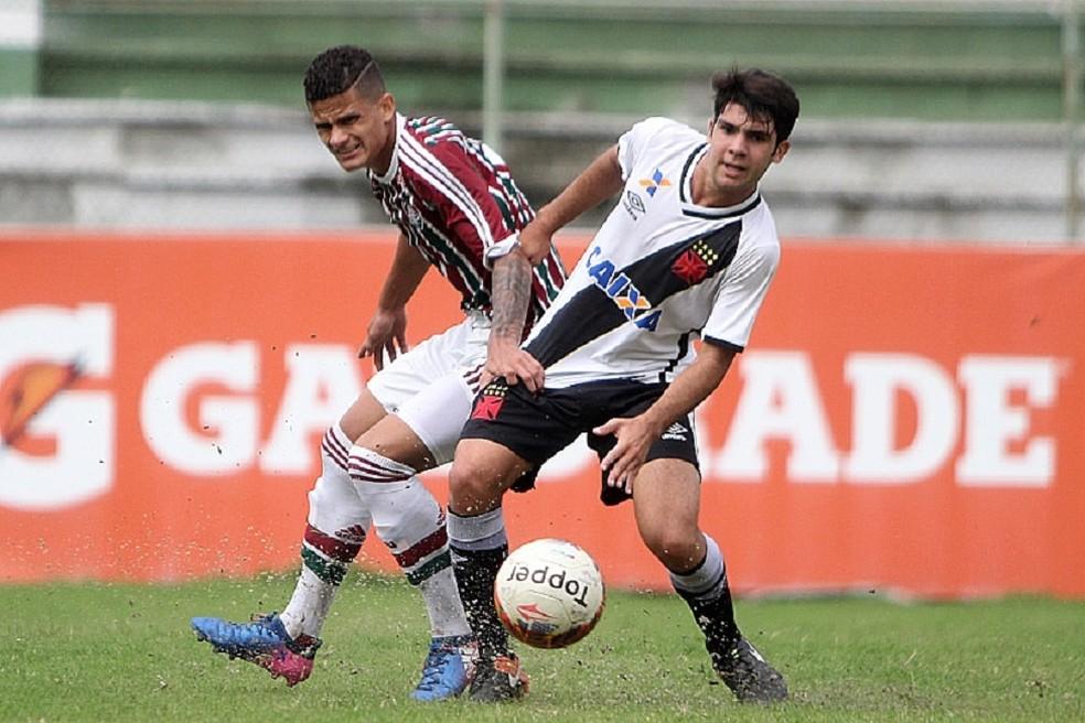 Dudu, meia do Vasco sub-20 (Foto: Paulo Fernandes / Vasco)
