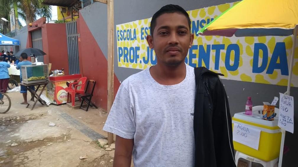 Ítalo Roni, 29 anos, vai prestar o Enem em Porto Velho — Foto: G1 Rondônia
