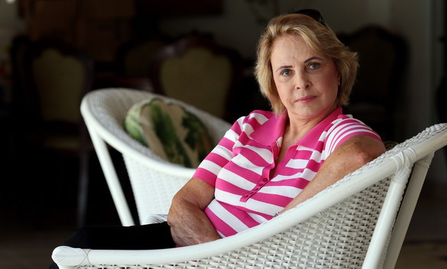 A ex-senadora Eunice Michiles em sua casa, em Brasília, no ano de 2010