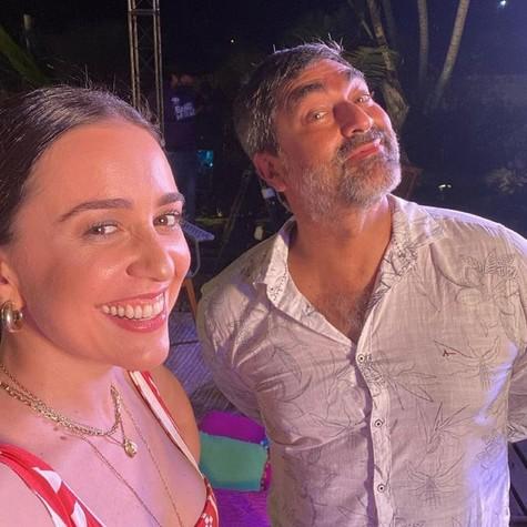 Roberta Sá e Zeca Camargo (Foto: Arquivo pessoal)