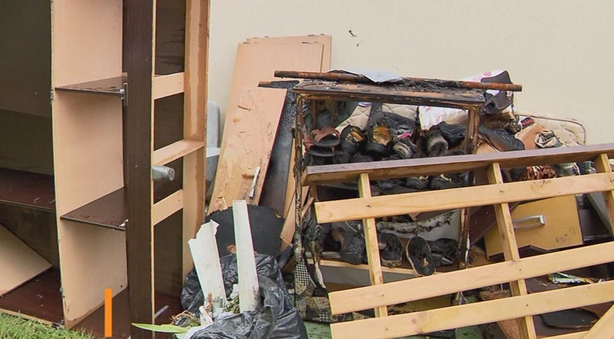 Casa terapêutica onde interno colocou fogo nunca tinha sido vistoriada pelos bombeiros