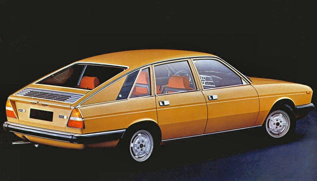Lancia Gamma Berlina 1975