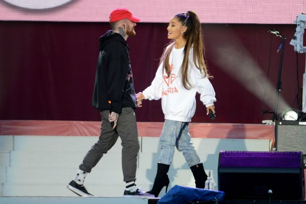 Mac Miller e Ariana Grande (Foto: Getty Images)