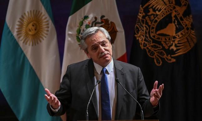 Alberto Fernández foi eleito presidente da Argentina