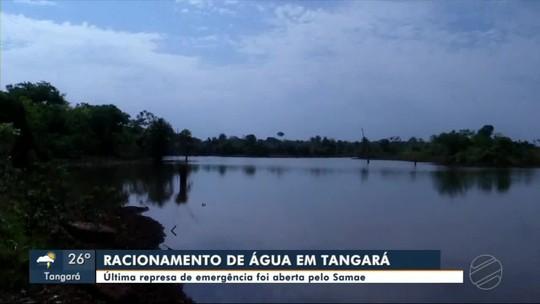Última represa de emergência foi aberta pelo Samae por causa do racionamento