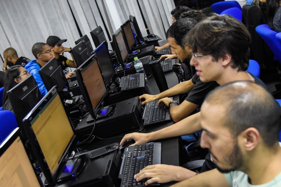 Alunos em um dos cursos do Senac — Foto: Cristiano Costa/Senac/Divulgação