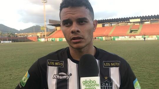 Autor do gol salvador do Atlético-ES, Geraldo dedica vaga à mãe recém-operada