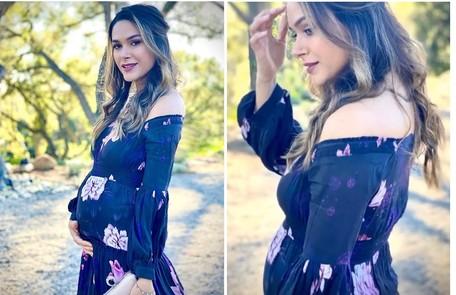Fernanda Machado tem feito repouso por estar com placenta prévia, condição em que o órgão se posiciona na parte inferior do útero Reprodução/Instagram