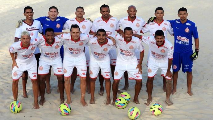 RN - América-RN beach soccer (Foto: Canindé Pereira/América FC/Divulgação)