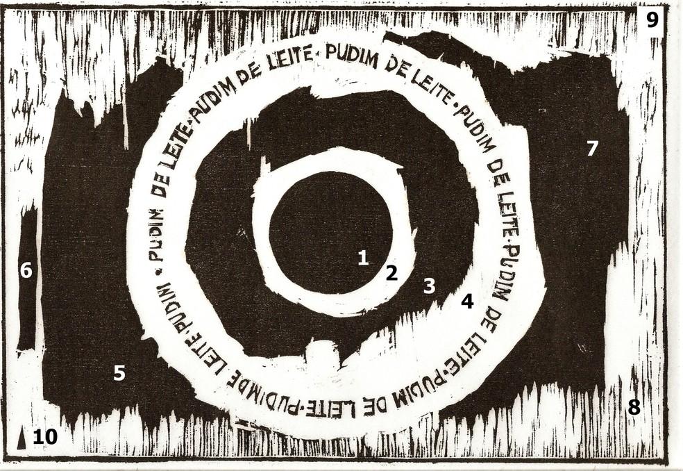 Exposições 'Arte - Decodificação Cosmológica' e 'Espaços do Desenho', de Uiara Bartira (Foto: Divulgação)