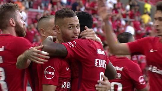 Os gols de Internacional 2 x 0 Bahia pela 1ª rodada do Brasileirão 2018