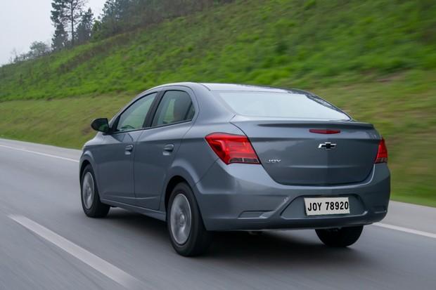 Chevrolet Joy Plus (Foto: Divulgação)