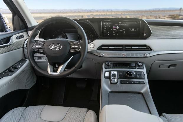 Hyundai palisade interior (Foto: Divulgação)