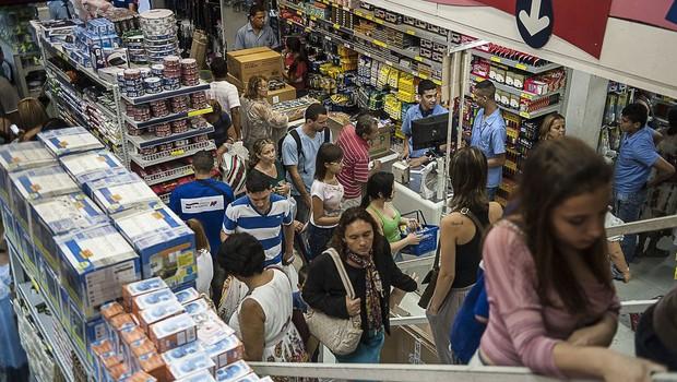 compras, comércio, varejo, consumo, consumidor (Foto: Marcelo Camargo/Agência Brasil/EBC, via Agência Brasil)