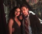 Thaila Ayala e James Franco | Divulgação